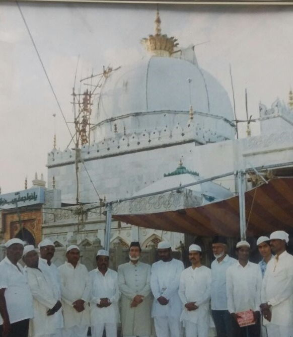 Ajmer Dargah with Gaddi Nashin Chief Moallim