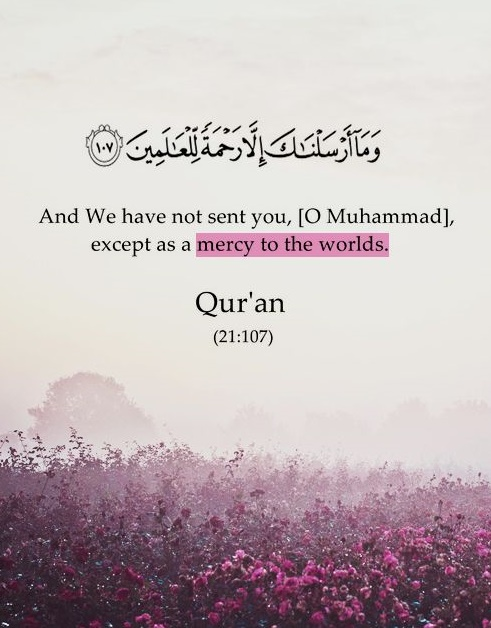 Muhammed , mercy to all worlds